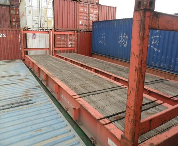40尺框架集装箱 二手集装箱出售 集装箱产品分类 广州